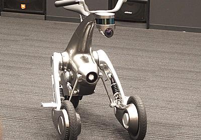 未来のバイクか カンガルーっぽい変形ロボット「CanguRo」 - ITmedia NEWS