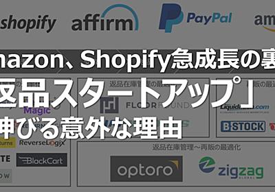 Amazon、Shopify急成長の裏で「返品スタートアップ」が伸びる意外な理由 松山馨太@Code Republic note