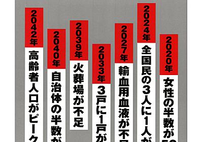 2042年問題。東京圏では医療も介護も受けられなくなる?