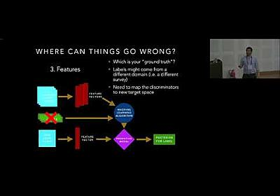 Building a training set for an automatic LSST light curve classifier by Rafael Martinez Galarza - YouTube