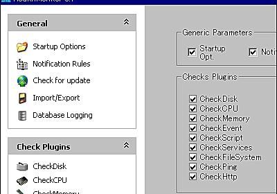 Windowsで動作するオープンソースなシステム監視「HealthMonitor」 - GIGAZINE