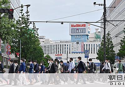 「いっそロックダウンを」 宣言延長初日、都心の様子は [新型コロナウイルス]:朝日新聞デジタル