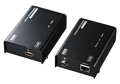 HDMIをLANケーブルで最大70m延長できるエクステンダー、サンワサプライ「VGA-EXHDLT」 - INTERNET Watch