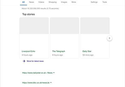 出た、Google最終兵器。EU著作権法改正後の白抜き画面がリーク | ギズモード・ジャパン
