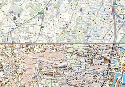 """東京五輪前・昭和30年代の""""新しい古地図""""ネットで公開、現代の地図と見比べられる「タイムワープMAP」【地図ウォッチ】 - INTERNET Watch"""