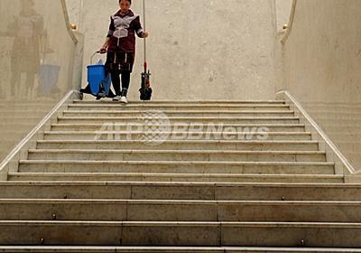 模様を汚れと間違えて掃除、芸術作品が台無しに 独美術館 写真1枚 国際ニュース:AFPBB News