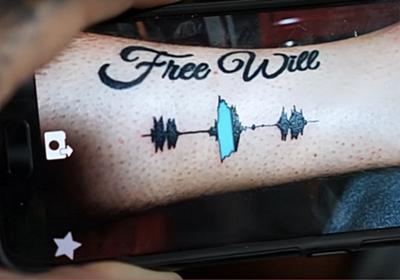 タトゥーも時代はIoT。音楽や声を波形にして彫っちゃう「Soundwave Tattoos」(しかも再生可能!) | ギズモード・ジャパン