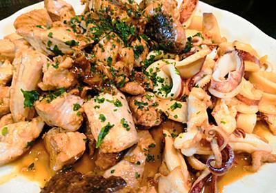 【1食115円】マグロ血合いとヤリイカのにんにくバター醤油焼きの作り方 - 50kgダイエットした港区芝浦IT社長ブログ