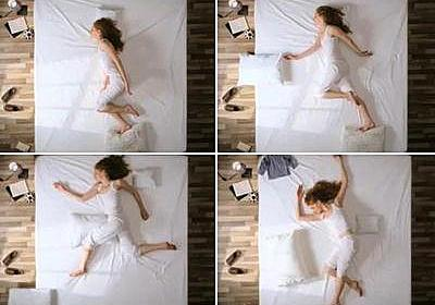 美女がベッドの上でアニメーション…表現は無限と思わせる映像(動画):らばQ