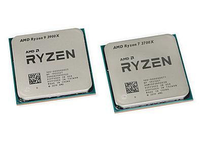 【特集】第3世代Ryzenが驚異的性能でIntelを圧倒。Ryzen 9 3900X/Ryzen 7 3700Xレビュー - PC Watch