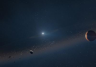 太陽系の未来の姿? 燃え尽きた恒星の周りを回る惑星を発見