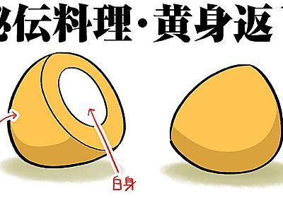 黄身が白身で白身が黄身なゆで玉子(デジタルリマスター版) - デイリーポータルZ