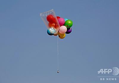 イスラエルがガザ空爆、「風船爆弾」に報復 漁業水域削減や燃料輸送中止も 写真4枚 国際ニュース:AFPBB News