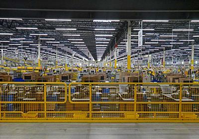 米Amazonフルフィルメントセンター訪問記。機械に整然と処理される荷物群 - Impress Watch