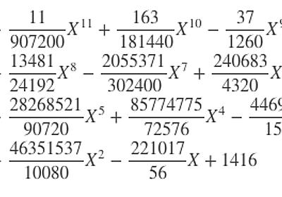 「月を入力すると日を返す多項式」と中国剰余定理 - tsujimotterのノートブック