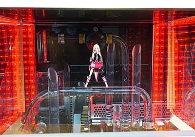 水冷チューブ上でボーカロイドが踊る!大阪で見た最新ホログラムPCがもの凄かった (取材中に見つけた○○なもの) - AKIBA PC Hotline!