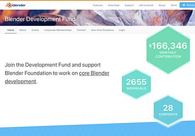 Apple、3DCGツール「Blender」の開発基金に参加 資金にとどまらない支援提供