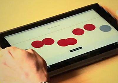 Student-made tablet app may make dedicated Braille writers obsolete