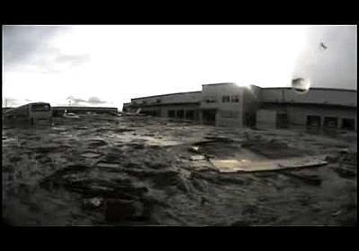 東日本大震災 津波で流されたトラックから回収したドラレコ~岩沼