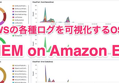 AWSの各種ログを可視化するOSSのSIEMソリューション「SIEM on Amazon ES」がAWSから公開されたのでCloudTrailログを可視化してみた | Developers.IO
