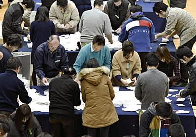 「学校にエアコン」住民投票、「賛成」実施目安に届かず (写真=共同) :日本経済新聞