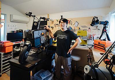 おもちゃ開発からスタートアップを経て、箱型変形バイクを開発——ロボットを描きたいと夢見た少年が理想のバイクを「再発明」するまで | fabcross