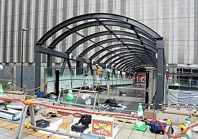 ヨドバシ梅田~大阪駅の高架歩道が開通へ 「うめきた」には今秋接続