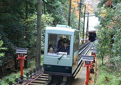 日本唯一、お寺が運営する鉄道 距離も日本最短 しかし「乗ることを勧められない」ワケ | 乗りものニュース
