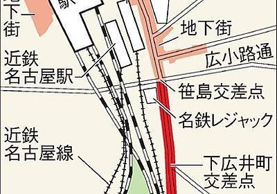「地上のにぎわい条件」ささしまの地下道、河村市長容認:朝日新聞デジタル