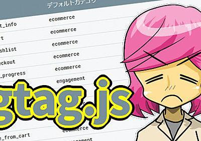 Web制作者がgtag.jsで知っておきたいGoogleアナリティクスの今