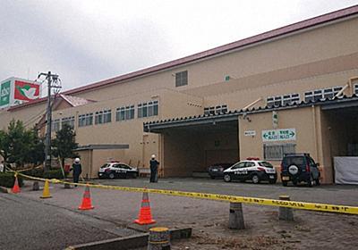 ショッピングセンターにクマ侵入、13時間後に倉庫で射殺 石川・加賀 - 毎日新聞