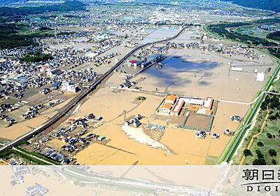 ハザードマップと重なった浸水域、それでも犠牲者防げず:朝日新聞デジタル