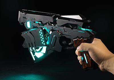 動画:Cerevo、アニメPSYCHO-PASSの特殊拳銃ドミネーター開発。自動変形機構、スマホで執行シーン再現 - Engadget 日本版
