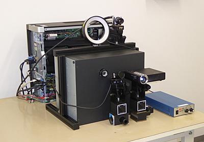 動く物体に遅延なく投影できる高速プロジェクタ「DynaFlash」を東大・石川研とTEDが共同開発 ~8bit階調の可変映像を最大1,000fpsで投影可能 - PC Watch