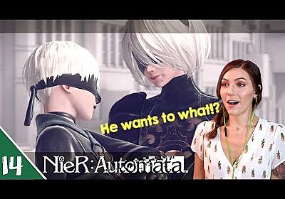 Flooded City - Route B | NieR Automata Pt. 14 | Marz Plays - YouTube