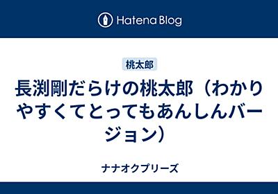 長渕剛だらけの桃太郎(わかりやすくてとってもあんしんバージョン) - ナナオクプリーズ