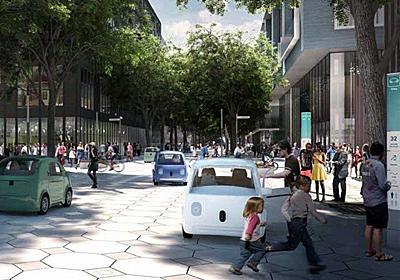 グーグルがつくる未来都市では、道路が柔軟に「変化」する|WIRED.jp