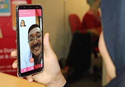 スマホ診療 都市で急成長 新興勢、アプリでビデオ通話 東南アの医師不足背景 :日本経済新聞