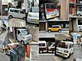 京都のギリギリ駐車コレクション :: デイリーポータルZ