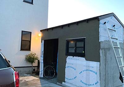 <庭プロジェクト>小屋工房製作21雨風を防げ!実は重要な役割の「破風」を作る - My Midcentury Scandinavian home 〜北欧ミッドセンチュリーの家〜