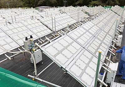 人工光合成、近づく実用化 三菱ケミなど大規模実証成功: 日本経済新聞