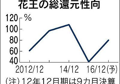 花王、自社株買い500億円 発行済みの2%、資本効率を改善 :日本経済新聞
