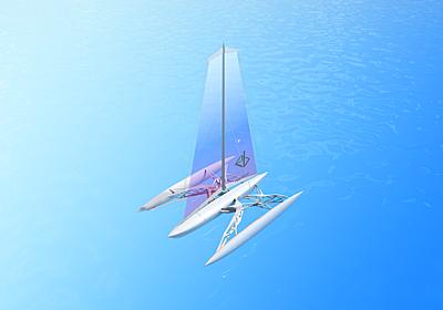 夢の「光熱費ほぼゼロ」にまた一歩。無人ヨットで水素を運搬したいテック企業が、2m級のドローンでテスト帆走に成功 | ギズモード・ジャパン
