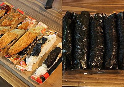 弁当を具にして海苔巻きを作る :: デイリーポータルZ