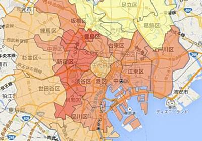 東京23区、進学率が高い地域はどこ? 納税額との関係は?【データで見る】   ハフポスト