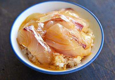 超簡単!鯛の刺身のTKG・卵かけご飯のレシピ/作り方:白ごはん.com