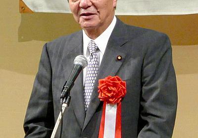 自民・竹下氏「消費税10%打ち止めとはいかない」:朝日新聞デジタル