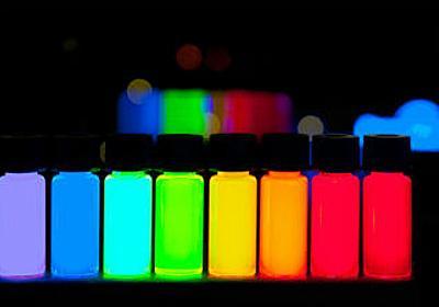 極小サイズの光るナノ粒子「ナノライト」が医療・技術・生活など世の中を変える将来 - GIGAZINE