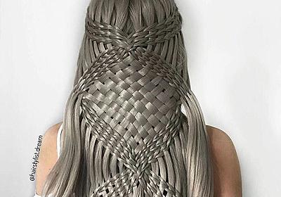 どうやって編んでるの!? 17歳の少女が作り出す芸術的なヘアスタイルが目を見張る美しさ - ねとらぼ