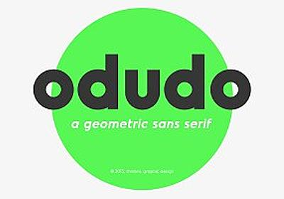 Odudo - Typeface ~ Sans Serif Fonts ~ Creative Market